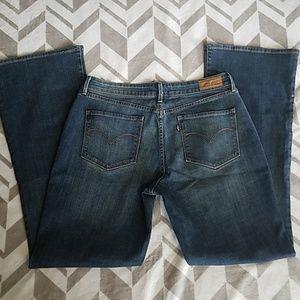Levi's Bold Curve Bootcut Jeans Sz 16/33